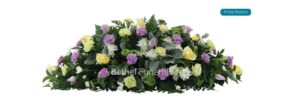 Pretty blooms funeral flowers
