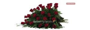 Rose Tribute funeral flowers