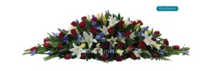Royal Blooms funeral flowers