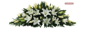 Lily Memorial Funeral Flowers