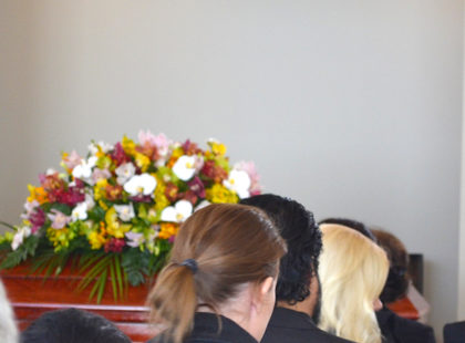 remembrance video at funeral