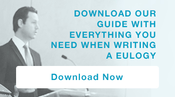Download our guide with everything you need when writing a eulogy